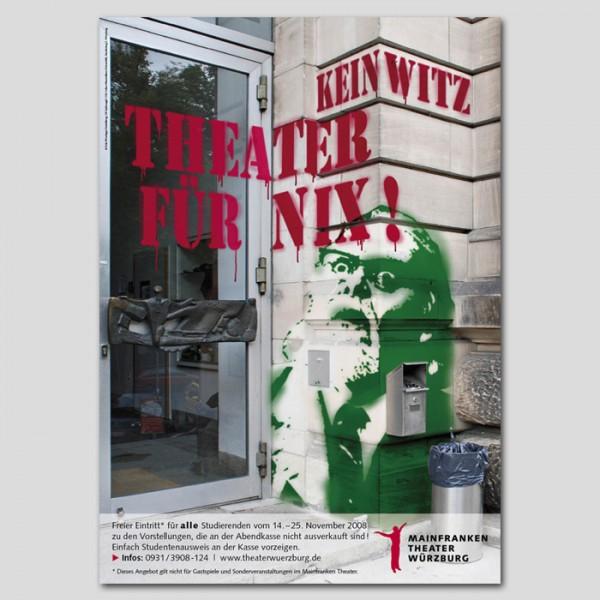 Theater für nix!