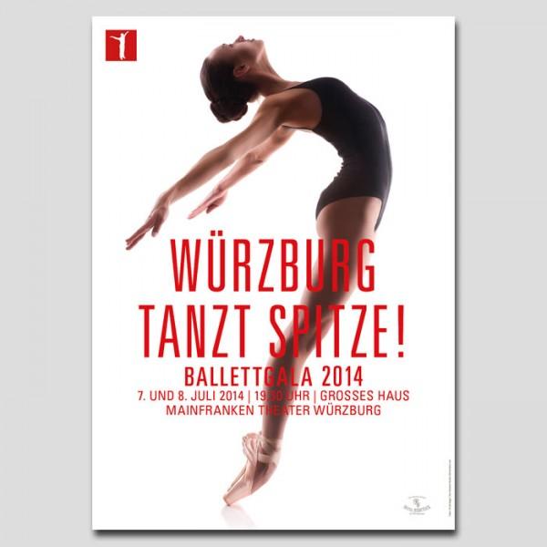 """Ballettgala """"Würzburg tanzt Spitze"""""""