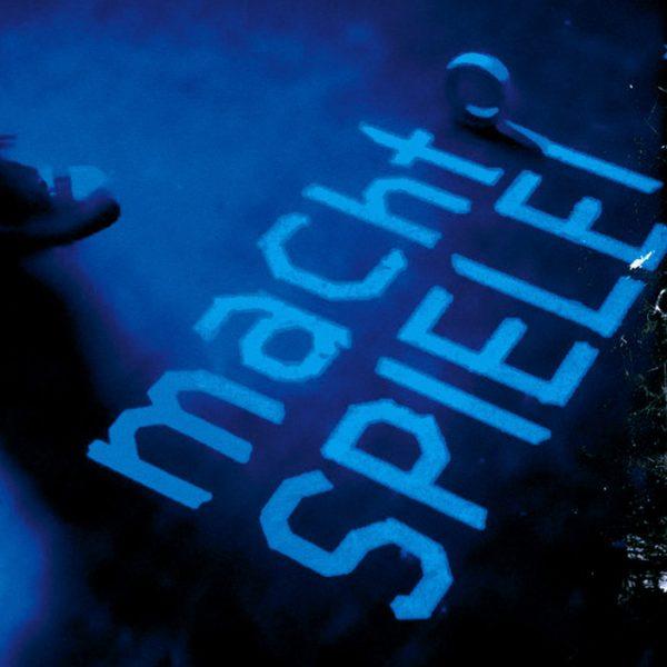 """Plakat """"MachtSpiele""""<br>(Autorentheatertage)"""