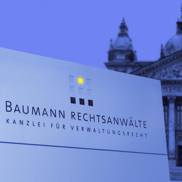 Website<br>Baumann Rechtsanwälte