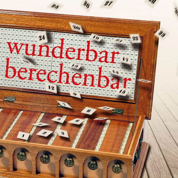 """Ausstellungsdesign <br> """"wunderbar berechenbar"""""""